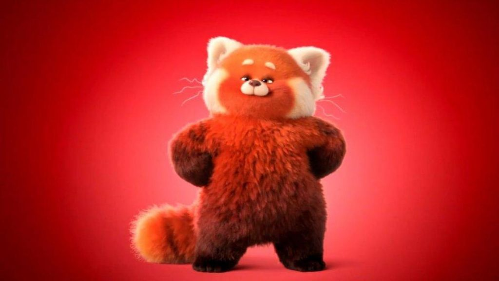 Mei Ling turns into a giant red panda when she'e excited in