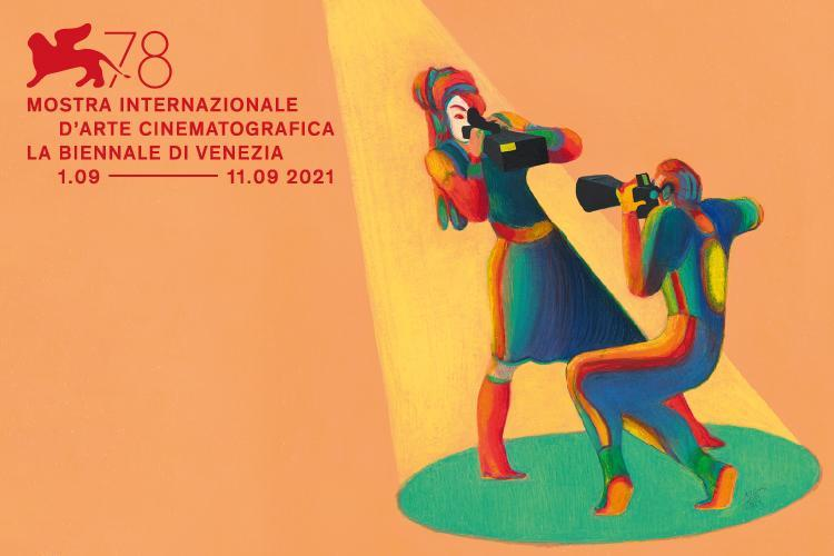 Italian illustrator and author Lorenzo Mattotti is, for the fourth year in a row, the author of the image for the official poster, and for the third year in a row of the opening sequence for the Venice International Film Festival of La Biennale di Venezia. Courtesy La Biennale di Venezia.