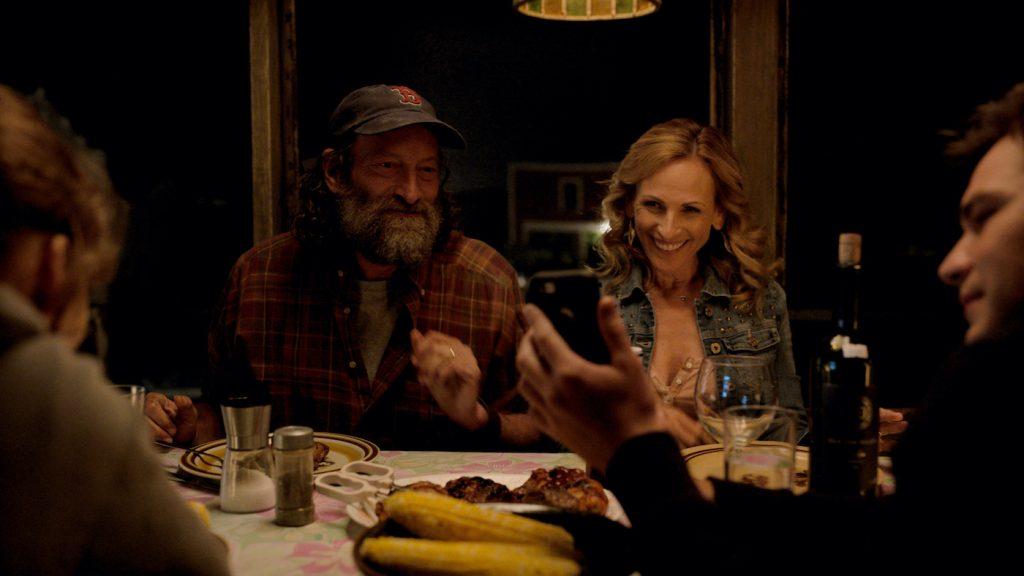 "Emilia Jones, Troy Kotsur, Marlee Matlin and Daniel Durant in ""CODA,"" premiering globally on Apple TV+ on August 13, 2021."