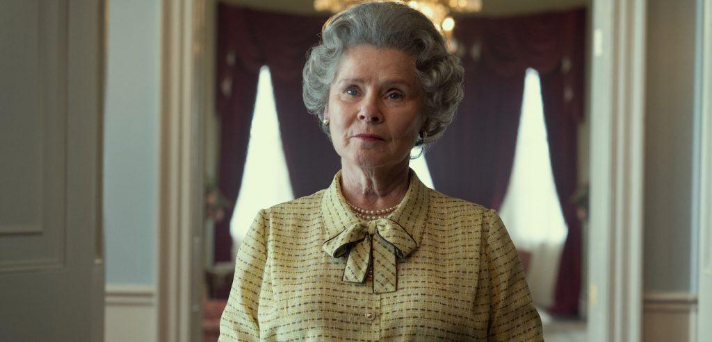 """Imelda Stanton is Queen Elizabeth in """"The Crown."""" Courtesy Netflix."""