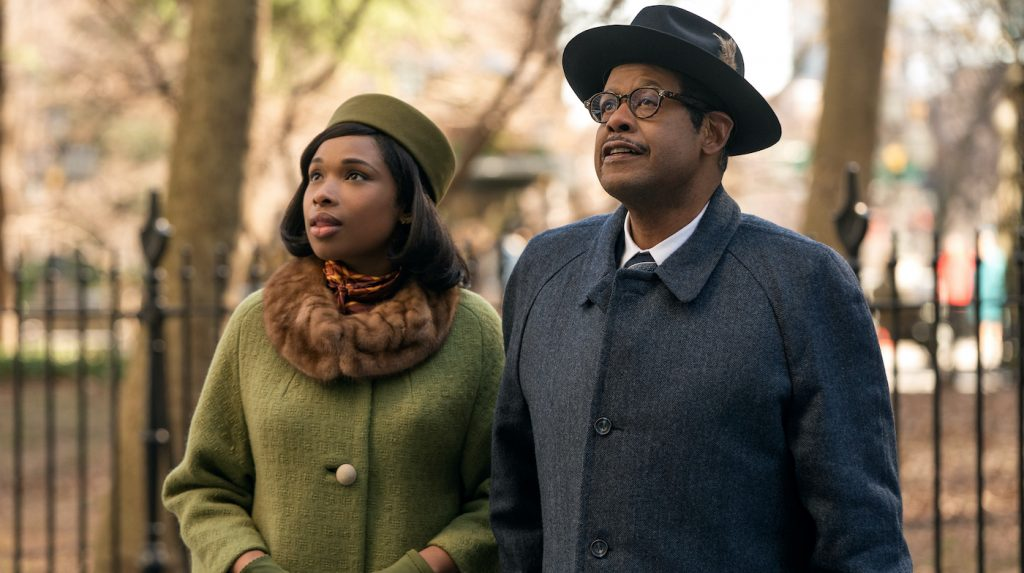 Jennifer Hudson stars as Aretha Franklin and Forest Whitaker as her father C.L. Franklin in RESPECT, a Metro Goldwyn Mayer Pictures film. Photo credit: Quantrell D. Colbert