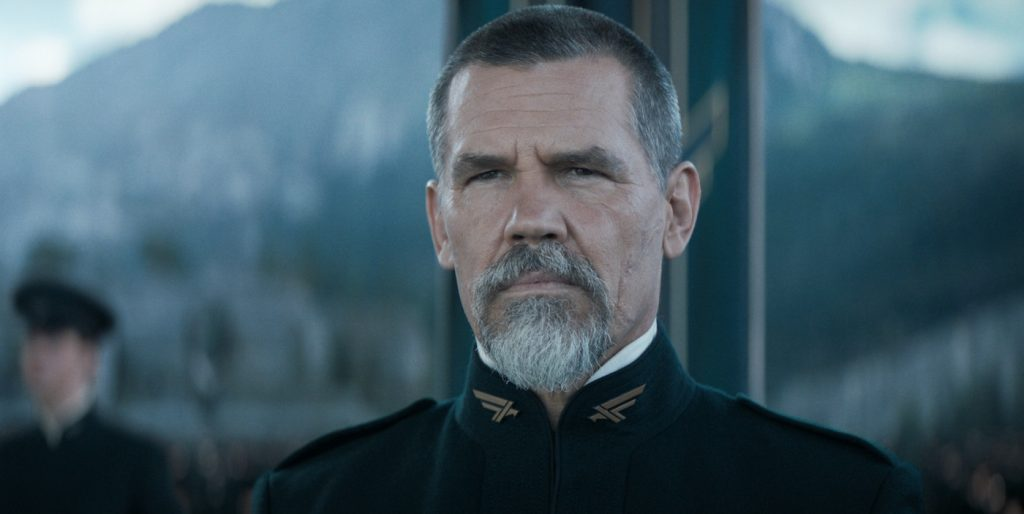 """Caption: (L-r) JOSH BROLIN as Gurney Halleck in Warner Bros. Pictures' and Legendary Pictures' action adventure """"DUNE,"""" a Warner Bros. Pictures release. Photo Credit: Courtesy of Warner Bros. Pictures and Legendary Pictures"""