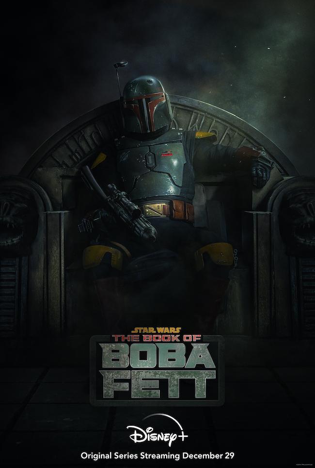 """The Book of Boba Fett"" key art. Courtesy Disney+."