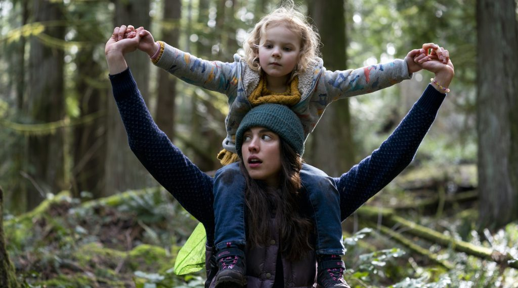 MAID (L to R) MARGARET QUALLEY as ALEX and RYLEA NEVAEH WHITTET as MADDY in episode 108 of MAID Cr. RICARDO HUBBS/NETFLIX © 2021
