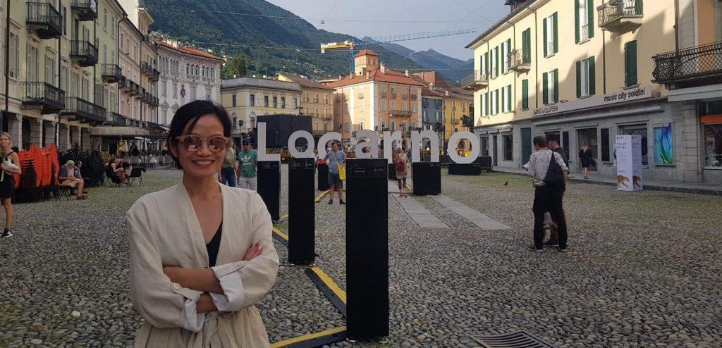 Ngoc in Locarno in 2019