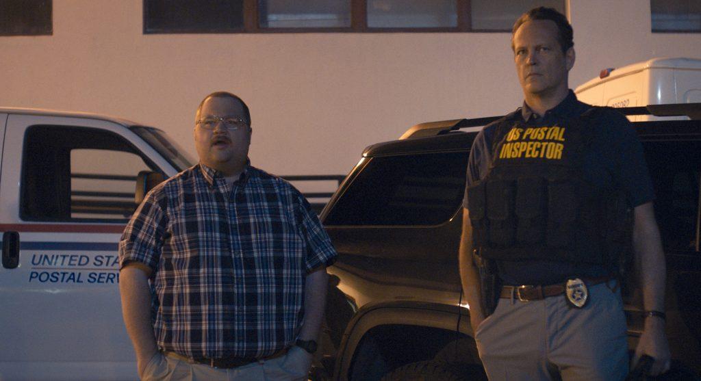 Paul Walter Hauser as Ken Miller and Vince Vaughn as Simon Kilmurry in QUEENPINS. Credit: Courtesy STX Films
