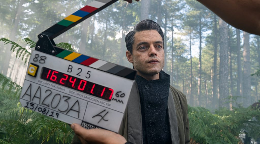 Rami Malek (Safin) on the set of NO TIME TO DIE, an EON Productions and Metro-Goldwyn-Mayer Studios film Credit: Nicola Dove © 2021 DANJAQ, LLC AND MGM. ALL RIGHTS RESERVED.
