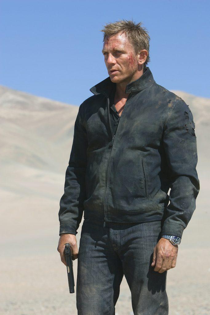 James Bond (DANIEL CRAIG). Photo by Karen Ballard. Location: Chile