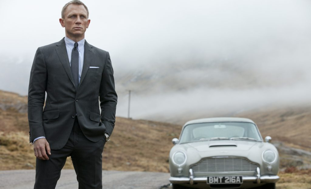 Daniel Craig stars as James Bond in Metro-Goldwyn-Mayer Pictures/Columbia Pictures/EON Productions' action adventure SKYFALL. Photo by Francois Duhamel.