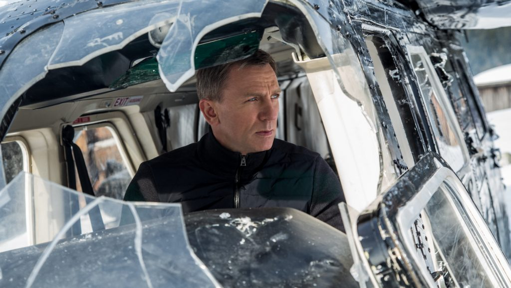 Daniel Craig stars as James Bond in Metro-Goldwyn-Mayer Pictures/Columbia Pictures/EON Productions' action adventure SPECTRE. Photo by Jonathan Olley.
