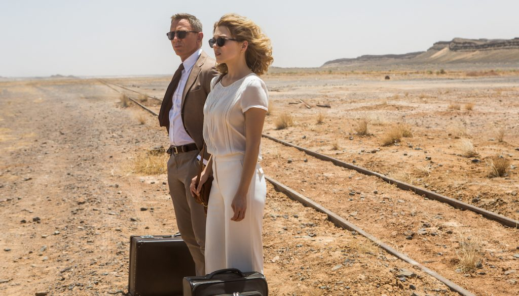 Daniel Craig and Léa Seydoux in Metro-Goldwyn-Mayer Pictures/Columbia Pictures/EON Productions' action adventure SPECTRE. Photo by Jonathan Olley.