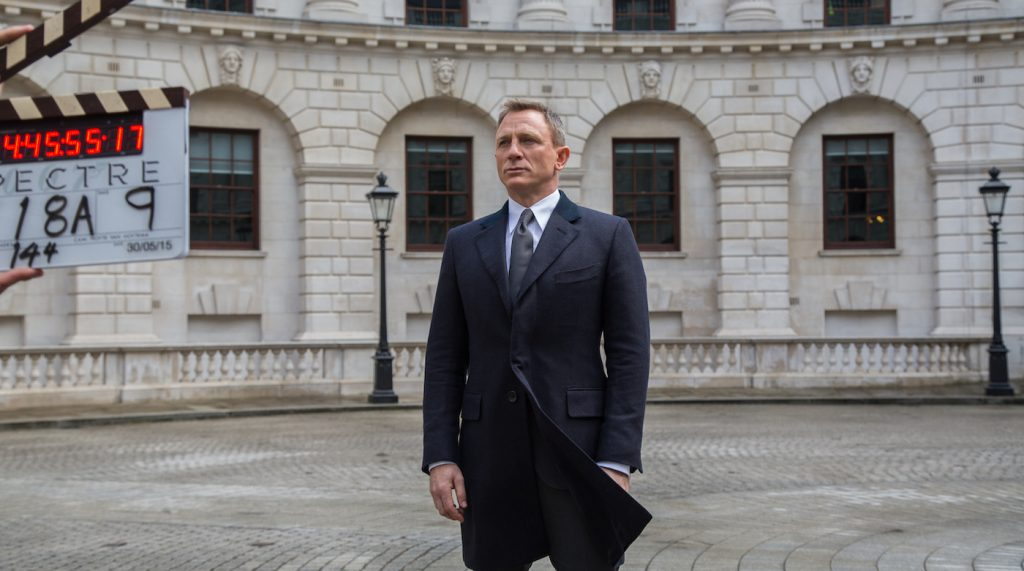 Daniel Craig on the set of Metro-Goldwyn-Mayer Pictures/Columbia Pictures/EON Productions' action adventure SPECTRE. Photo by Jonathan Olley.