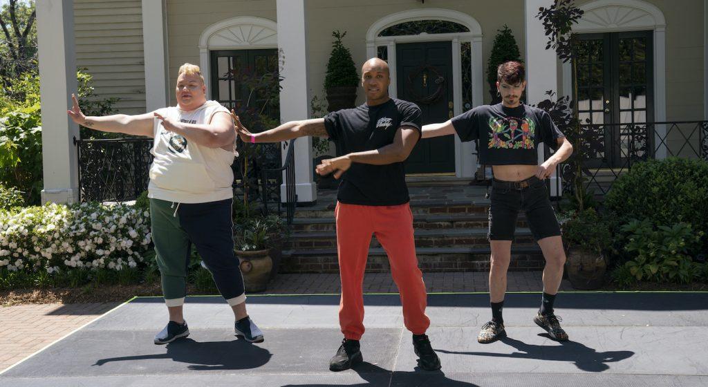 Eureka, Marvin Brown, Noah. Photo courtesy HBO.