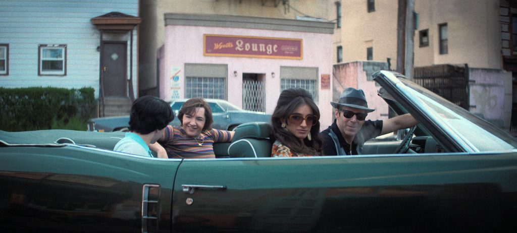 """Caption: (L-r) MICHAEL GANDOLFINI as Teenage Tony Soprano, MICHELA DE ROSSI as Giuseppina Moltisanti and ALESSANDRO NIVOLA as Dickie Moltisanti in New Line Cinema and Home Box Office's mob drama """"THE MANY SAINTS OF NEWARK,"""" a Warner Bros. Pictures release. Photo Credit: Courtesy of Warner Bros. Pictures and New Line Cinema"""