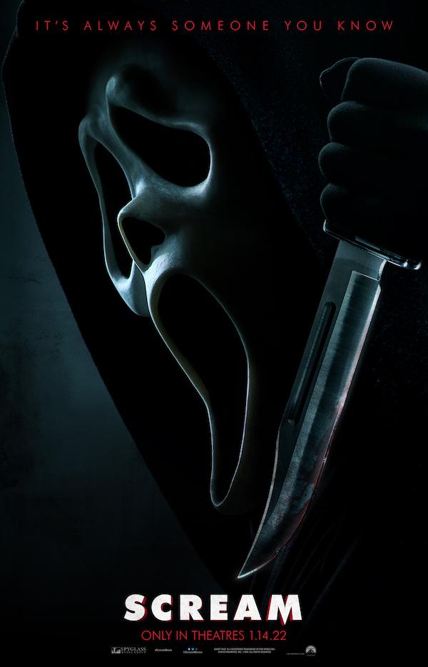 """Scream"" poster. Courtesy Paramount."